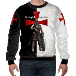 NEW THE KNIGHTS TEMPLAR,ROYAL TEUTONIC ALL OVER SWEAT-SHIRT