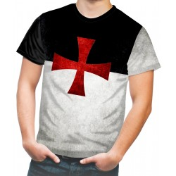 Knights Templar Cross Catholic Holy Bible Solomon's Temple Church T-SHIRT