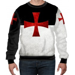 Knights Templar Cross Catholic Holy Bible Solomon's Temple Church SWEAT-SHIRT