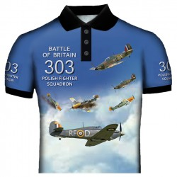 POLISH 303-SQUADRON POLO SHIRT
