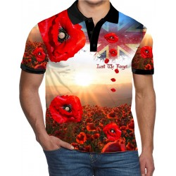 LEST WE FORGET POLO SHIRT