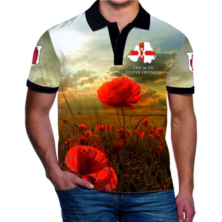36TH DIVISION REMEMBRANCE POLO SHIRT2