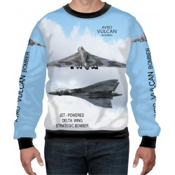 VULCAN BOMBER SWEAT SHIRT