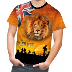 BRITISH PATRIOT WW1 T SHIRT