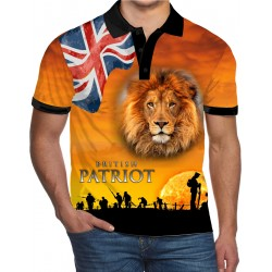 BRITISH PATRIOT WW2 POLO SHIRT