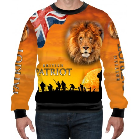 BRITISH PATRIOT WW2 WEAT-SHIRT