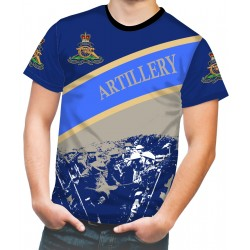 ROYAL ARTILLERY WW2 BLUE T SHIRT