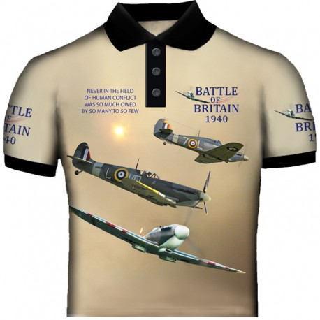 SPITFIRE-AND-HURRICANE POLO SHIRT