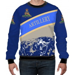 ROYAL ARTILLERY WW1 BLUE SWEAT-SHIRT