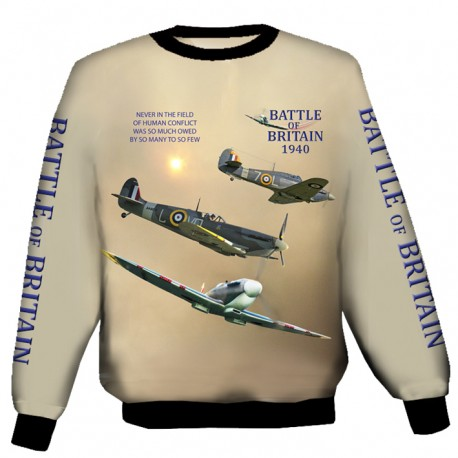 SPITFIRE-AND-HURRICANE SWEAT SHIRT