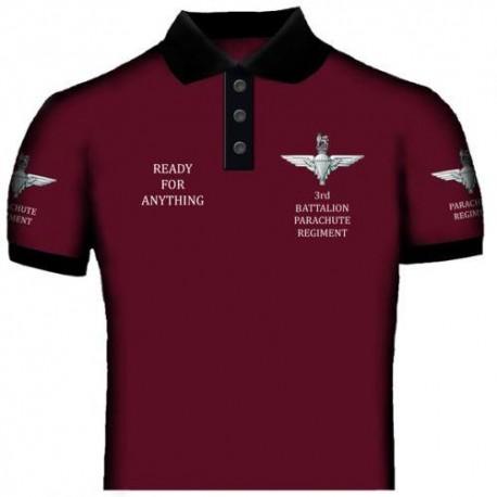 3rd Battalion The Paras Polo Shirt