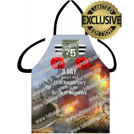 75 TH ANNIVERSARY D DAY APRON